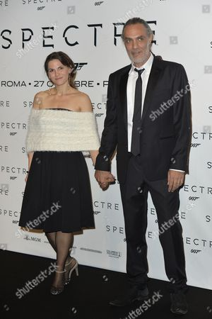 Stock Photo of Alessandro Cremona and his wife Astra Lanz