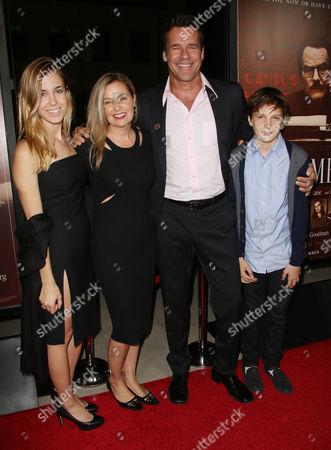 David James Elliott and family