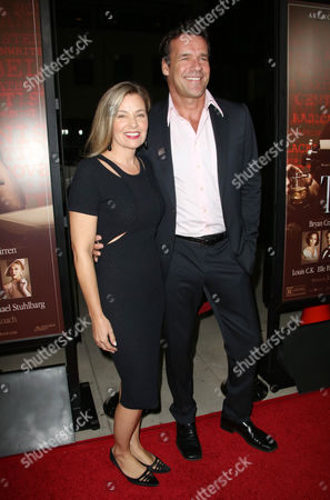 David James Elliott and wife