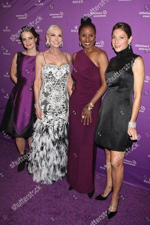 Kimberly Williams-Paisley, Michele Herbert, B. Smith and Daryl Simon