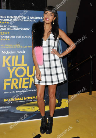 Editorial picture of 'Kill Your Friends' film screening, London, Britain - 27 Oct 2015