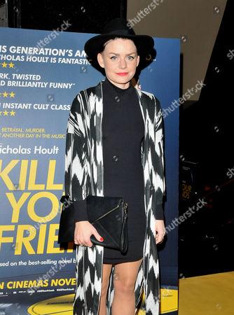 Editorial image of 'Kill Your Friends' film screening, London, Britain - 27 Oct 2015
