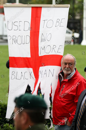 Demonstrators show support for Sgt Alexander Blackman