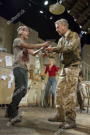 Erik Odom as Tim, Charlotte Parry as Tina, Stephen Tompkinson as Teddy