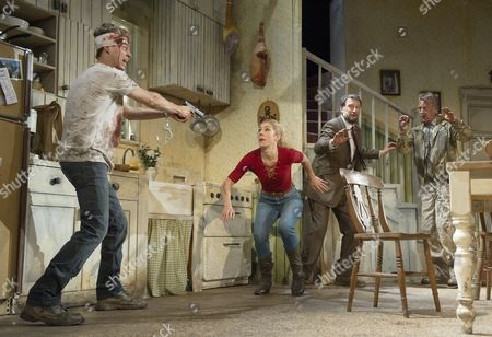 Editorial picture of 'Pig Farm' play by Greg Kotis performed at the St James Theatre, London, Britain - 26 Oct 2015