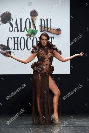 Editorial picture of 'Salon Du Chocolat' fashion show, Paris, France - 27 Oct 2015