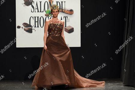 Tatiana Golovin on the catwalk