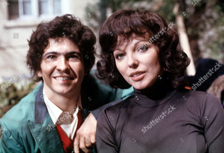 Andrew [Andy] Secombe and Joan Collins