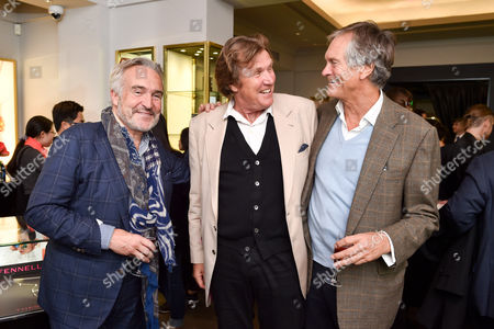 Stephen Bayley, Theo Fennell and Charles Delevingne