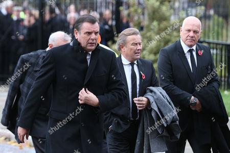 Graeme Sharpe, Adrian Heath and Andy Gray