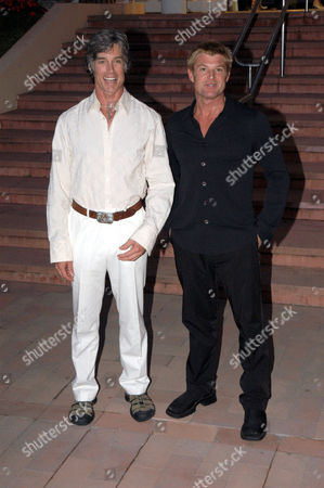 'Desperate Housewives' party - Ronn Moss and Winsor Harmon - 29 Jun