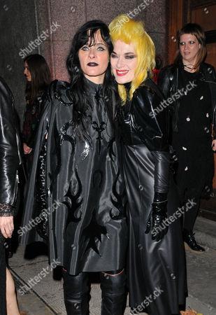Juliette Larthe and Pam Hogg