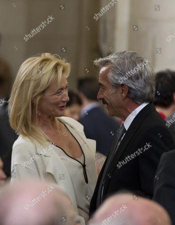 Ana Duato and Imanol Arias