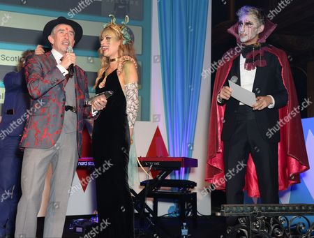 Steve Coogan, Camilla Al-Fayed and George Lamb