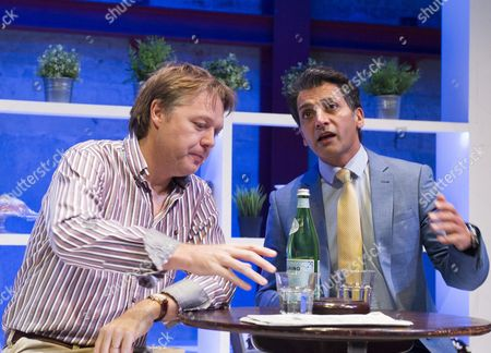 Editorial image of 'Dinner with Friends' Play performed at The Park Theatre, London, UK, 29 Oct 2015