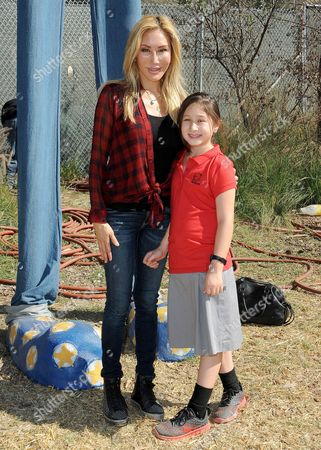 Tess Broussard and her daughter Ava
