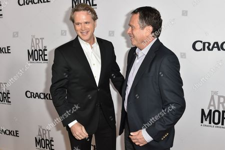 Stock Photo of Cary Elwes and Gardner Stern