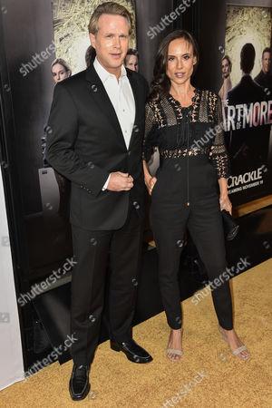 Cary Elwes and Lisa Marie Kubikoff