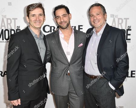 Editorial image of 'The Art of More' TV series premiere, Los Angeles, America - 29 Oct 2015