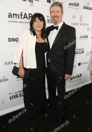E. L. James and husband Niall Leonard