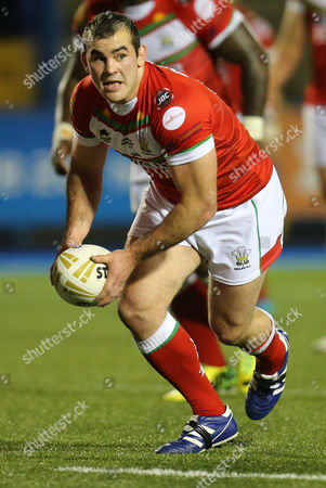 Stock Picture of Steve Parry of Wales
