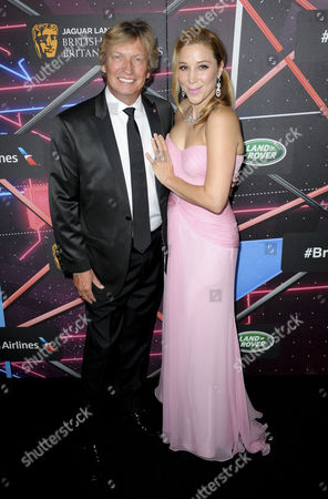 Nigel Lythgoe and Becky Baeling