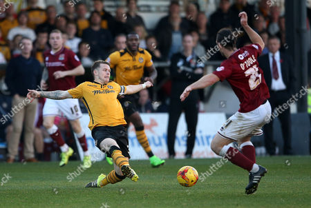 Editorial photo of Newport County v Northampton Town - SkyBet League Two, Britain - 31 Oct 2015