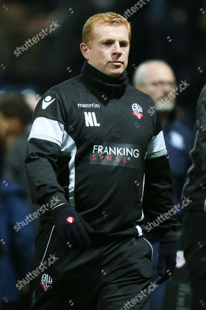 Bolton Wanderers manager Neil Lennon walks off at half time during the Sky Bet Championship match between Preston North End and Bolton Wanderers played at Deepdale on October 31st  2015