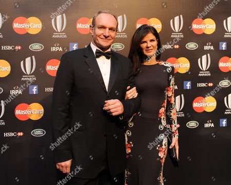 Francois Pienaar with his wife Nerine Winter