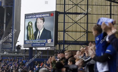 Everton remember Howard Kendall