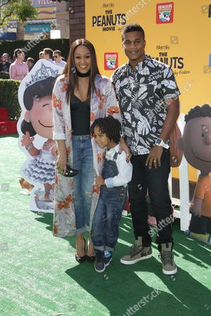 Tia Mowry-Hardrict, Cory Hardrict and Daughter Cree Taylor Hardrict