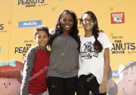 Shar Jackson with guests