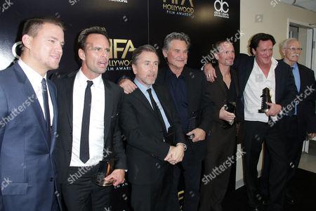 Channing Tatum, Walton Goggins, Tim Roth, Kurt Russell, James Parks and Michael Madsen, Bruce Dern