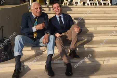 Marco Pannella and Raffaele Sollecito