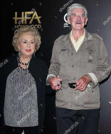 Doris Roberts with guest