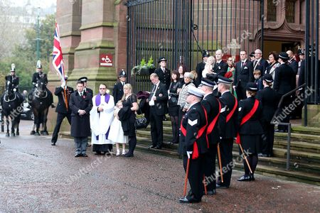 Editorial picture of BPI News - PC Dave Phillips funeral, Liverpool Anglican Cathedral, Liverpool, Britain - 2 Nov 2015