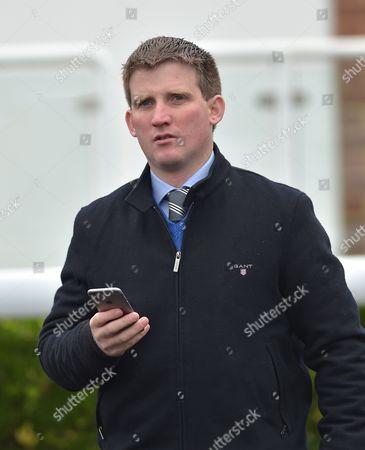 Neil Mulholland, trainer, @ Kempton Park Racecourse. Pic: Hugh Routledge. 2.11.15