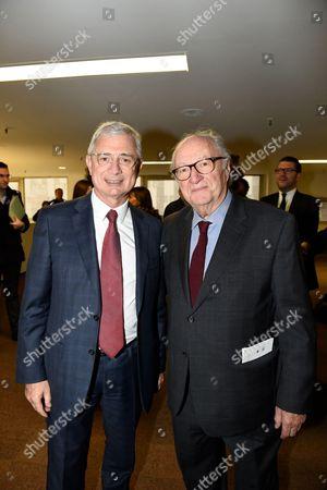 Claude Bartolone and Roger Cukierman