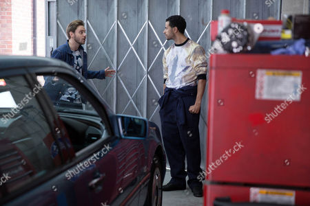 Jamie [JAMES ATHERTON] calls in the garage and tells Luke Britton [DEAN FAGAN] he's put him down to race on Saturday. Luke refuses, explaining he's promised Maria he won't race again. But Jamie tells Luke he needs cash from the race to clear his mounting debts. Luke's aghast when Jamie shows him some old photos of a scantily clad Steph on his phone and threatens to make them public unless Luke cooperates!
