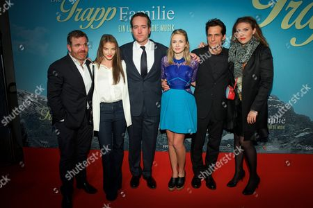 Editorial picture of 'The Trapp Family' film premiere, Munich, Germany - 02 Nov 2015