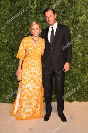 Tory Burch and boyfriend Pierre-Yves Roussel, the CEO of LVMH Fashion Group