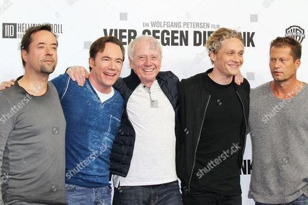 Jan Josef Liefers, Michael Bully Herbig, Wolfgang Petersen, Matthias Schweighoefer and Til Schweiger