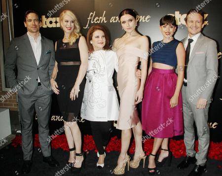 Editorial photo of 'Flesh and Bone' TV series premiere, New York, America - 02 Nov 2015