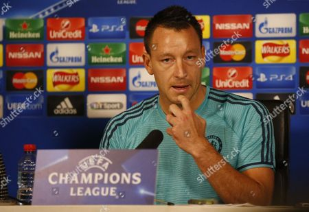 John Terry press conference to preview Saturday's match against Dynamo Kiev at Stamford Bridge