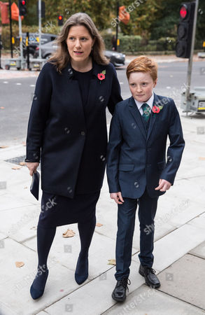 Sarah Gurling and son Donald Kennedy