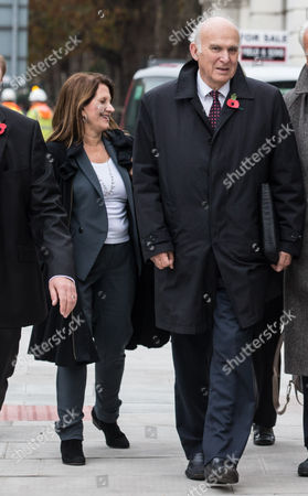 Editorial picture of Charles Kennedy Memorial Service, London, Britain - 03 Nov 2015