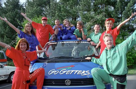 Editorial photo of 'Go Getters' TV Programme. - 1990s