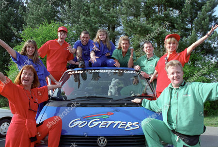 Editorial picture of 'Go Getters' TV Programme. - 1990s