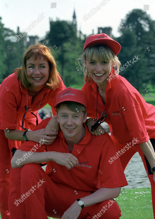 Sian Lloyd, Andy Crane and Michael Strachan