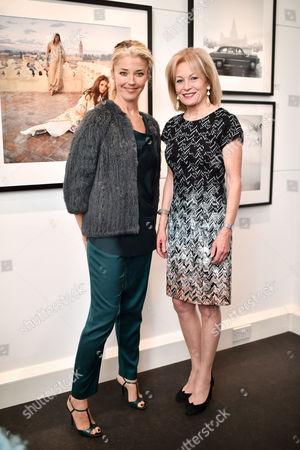 Tamara Beckwith and Lady Annunziata Asquith